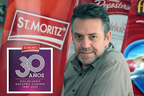 Cristóbal Suarez, gerente general de St.Moritz